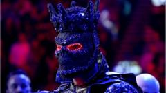 Deontay Wilder in his ring-walk costume