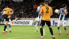 Ruben Neves scores against Espanyol