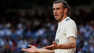 Wales and Real Madrid forward Gareth Bale
