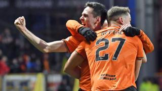 Dundee United score