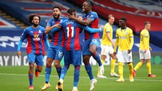 Crystal Palace celebrate opener