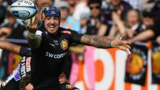 Jack Nowell in action for Exeter
