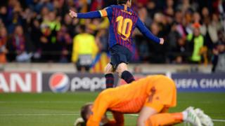 David de Gea and Lionel Messi