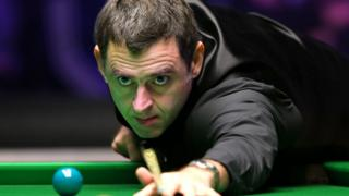 Ronnie O'Sullivan at the Masters