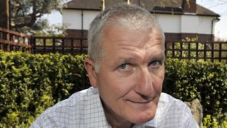 Bob Willis portrait