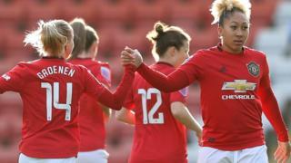 Manchester United's Lauren James