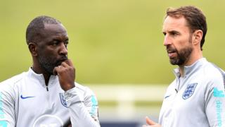 Chris Powell and Gareth Southgate