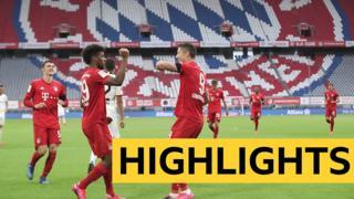 Highlights: Bayern Munich 5-2 Eintracht Frankfurt
