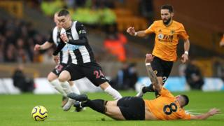 Wolves v Newcastle