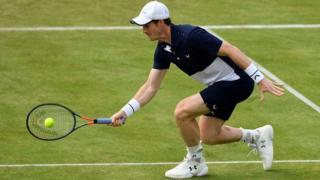 Andy Murray half volley
