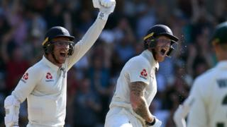 Jack Leach and Ben Stokes