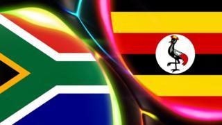 South Africa v Uganda