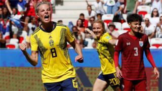 Sweden's Lina Hurtig