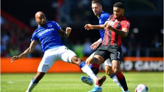 Everton's Fabian Delph