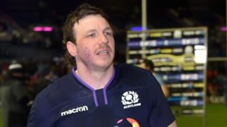 Scotland flanker Hamish Watson