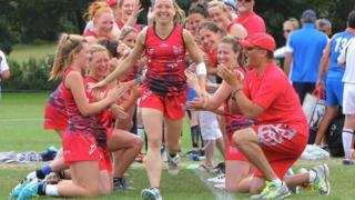 Wales women's team