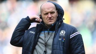 Scotland coach Gregor Townsend