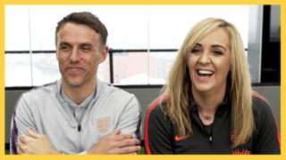 Phil Neville and Tracey Neville