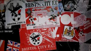 Bristol City stickers