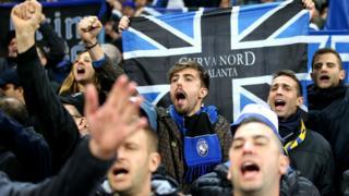 Atalanta fans