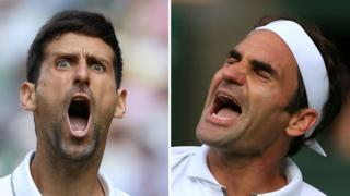 Novak DJokovic and Roger Federer set for Wimbledon final