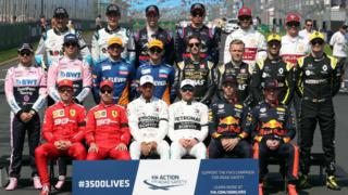 Driver line-up 2019