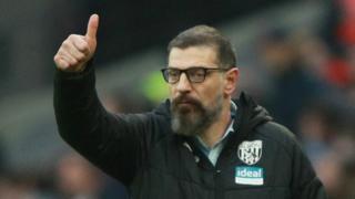 West Brom boss Slaven Bilic