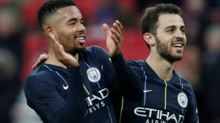 Jesus and Bernardo Silva