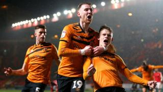 Hull celebrate late equaliser