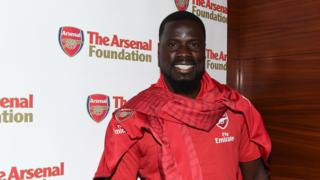Former Arsenal and Ivory Coast defender Emmanuel Eboue
