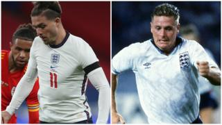 Jack Grealish and Paul Gascoigne
