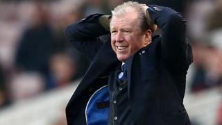 Steve McClaren on the sidelines at QPR