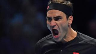 Roger Federer plays Novak Djokovic in ATP Finals