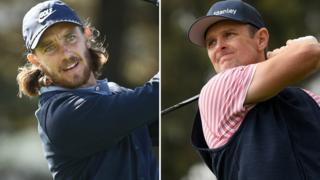 Tommy Fleetwood (left) and Justin Rose (right)