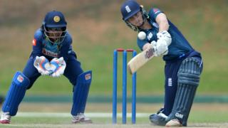 England opener Amy Jones