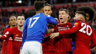 James Milner celebrates