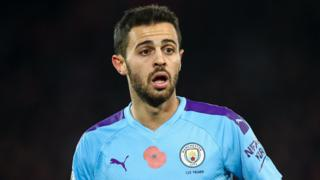Manchester City forward Bernardo Silva