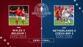 Semi-final one graphic