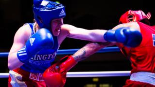 British Boxers in action
