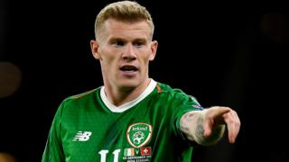 James McClean of Ireland