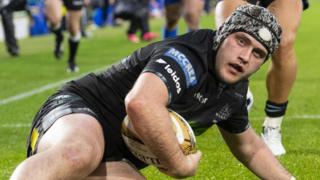 Glasgow Warriors' Grant Stewart