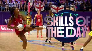 Netball World Cup day four Skills of the Day