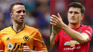 Diogo Jota and harry Maguire