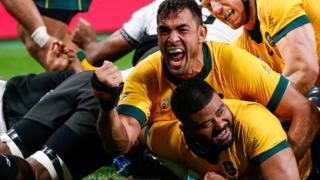 Silatolu Latu scores for Australia
