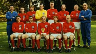England's 1966 World Cup winners