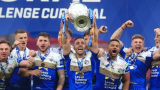 Leeds lift the Challenge Cup