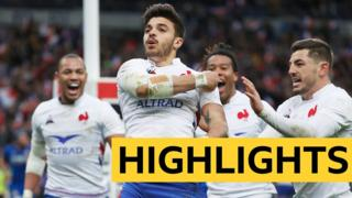 Six Nations 2020 highlights: France 35-22 Italy