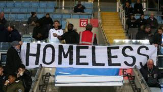 Coventry City fans