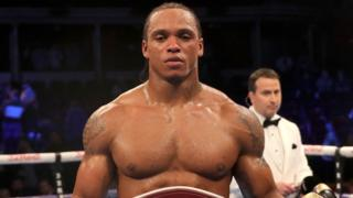 Boxer Anthony Yarde