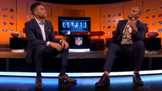 Jason Bell and Osi Umenyiora